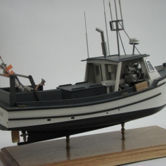 F/V Jack Tar Model